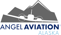 Angel Aviation Alaska Flight School Logo
